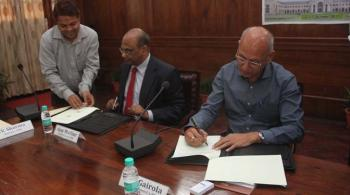 Signing between ICFRE, Dehra Dun and The Energy and Resources Institute (TERI), New Delhi